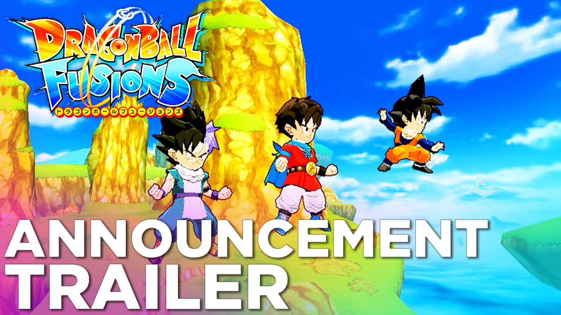 Dragon Ball Fusions Coming To 3DS This December