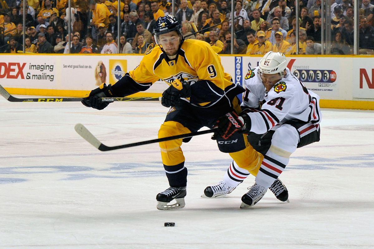 Blackhawks pull out win over Predators