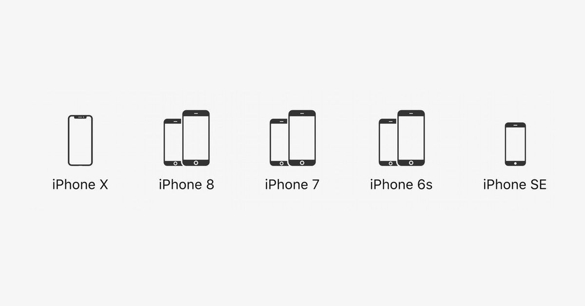 iphone prices  from the iphone 6s to the iphone x