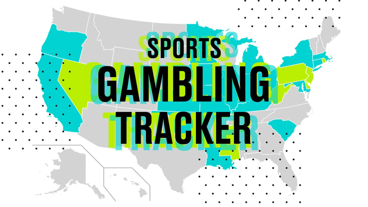 When will my state legalize sports betting? Map of sports gambling  legislation across the US