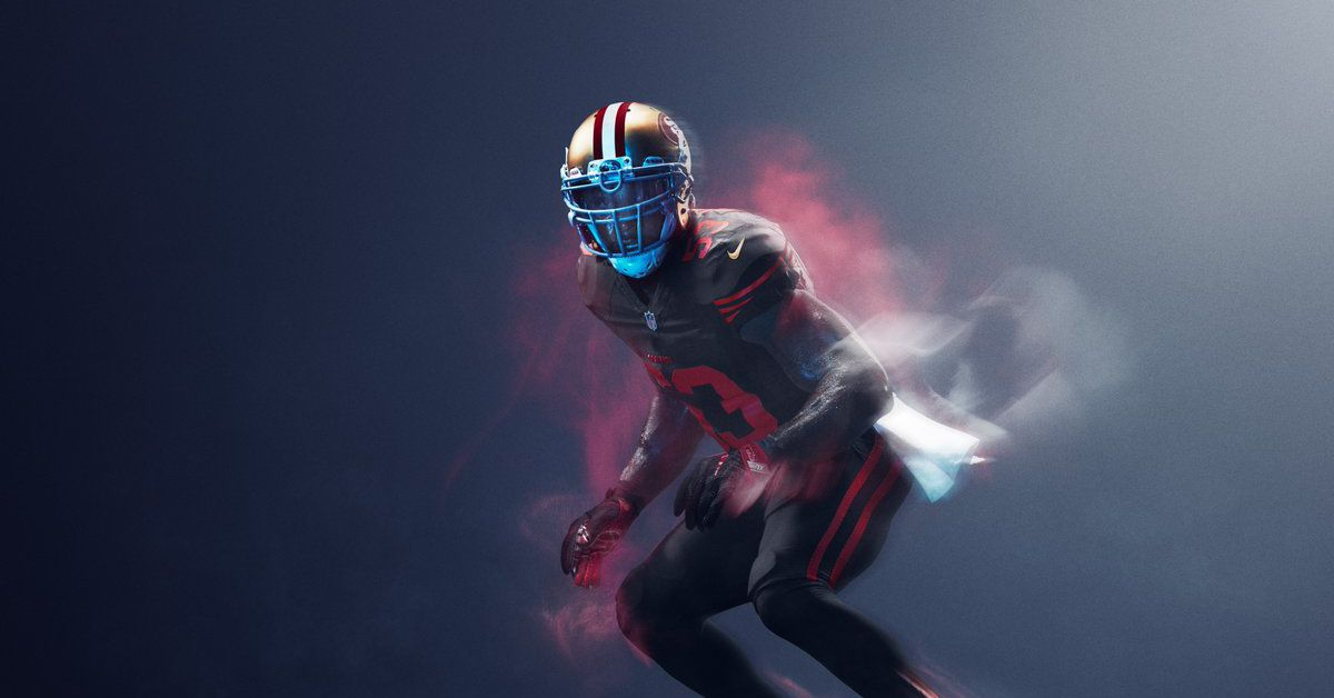 the best attitude d2b45 dbe1a 49ers, Rams to wear Color Rush uniforms for Thursday Night ...