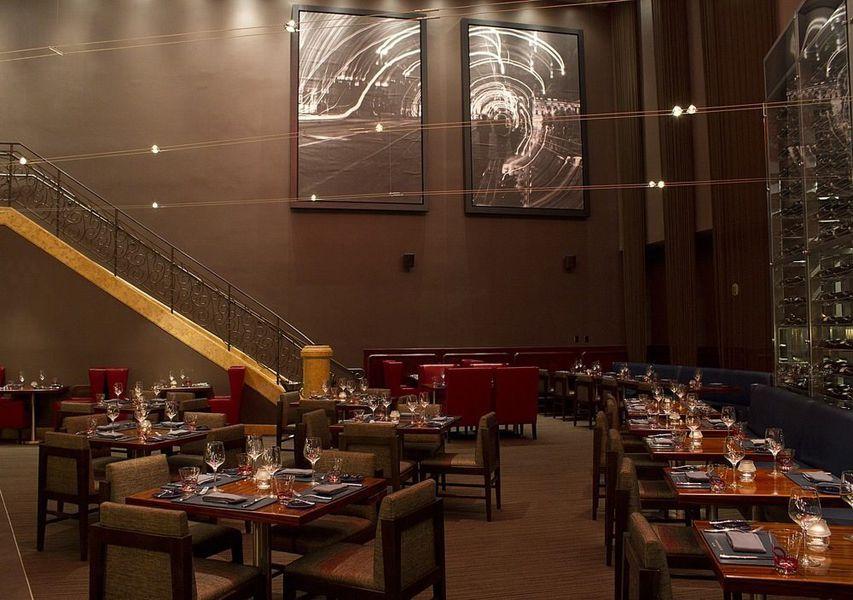All that is fabulous inside gordon ramsay steak eater vegas - Private dining rooms las vegas ...