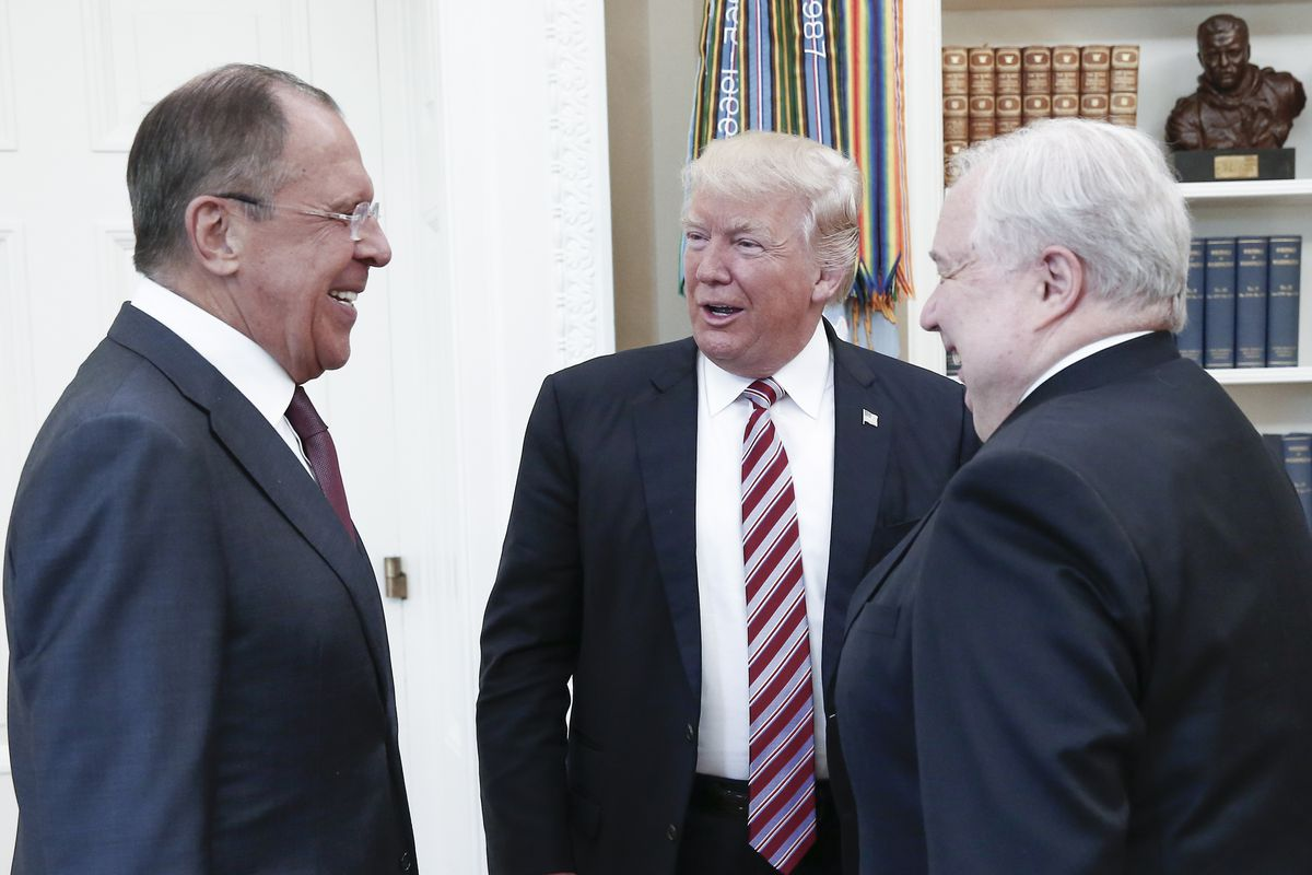 Image result for trump meets russians