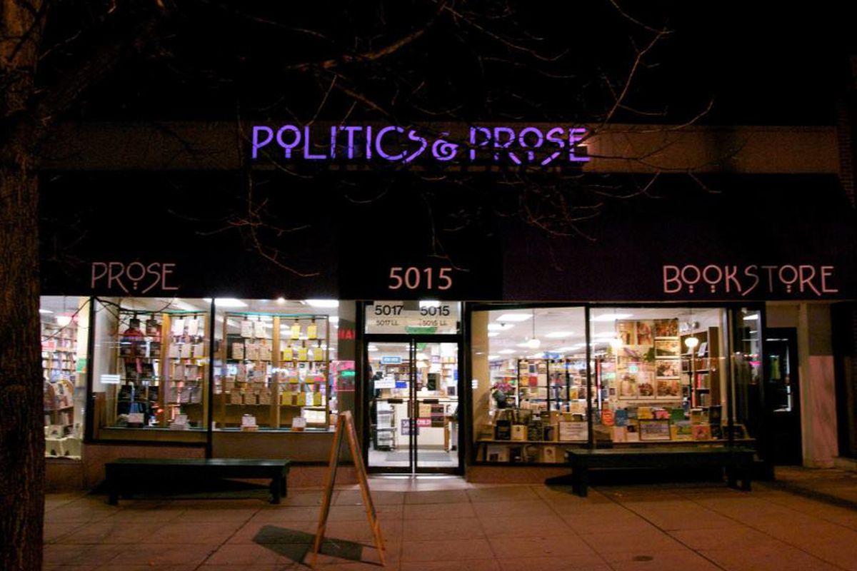 Politics And Prose Cafe Menu