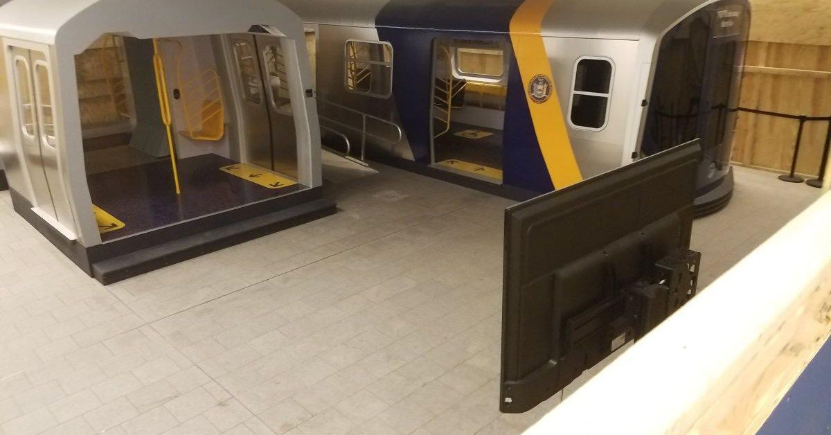 Car Sharing Nyc >> MTA's open gangway subway car prototypes uncovered at ...