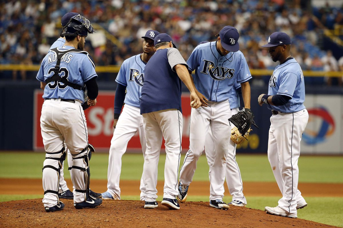 3 batters hit, 3 ejections in Rays' 9-5 win over Yankees