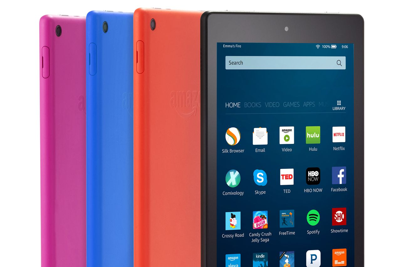 Amazon slashes price, adds Alexa to new Fire tablet