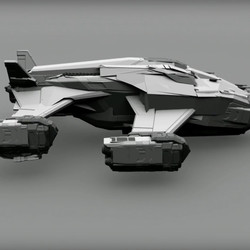 The Chieftain is a new warship, the product of a collaboration between the Alliance and the fictional starship manufacturer called Lakon.
