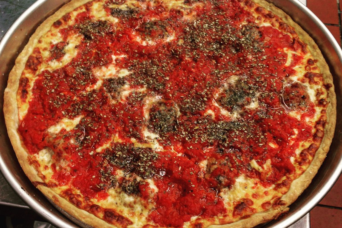 the search for chicago deep dish pizza in d c eater dc deep dish from vin vic s official