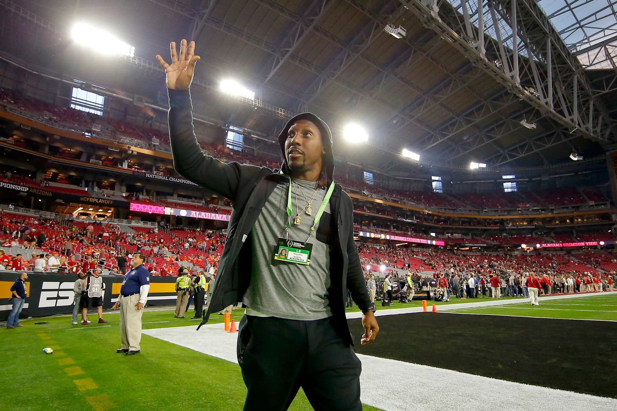 Check out Roddy White highlights as wide receiver 'officially' retires