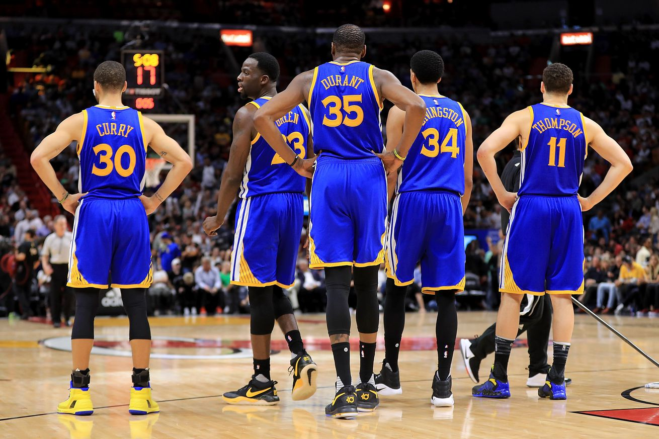 Basket - Golden State Warriors beat Trail Blazers