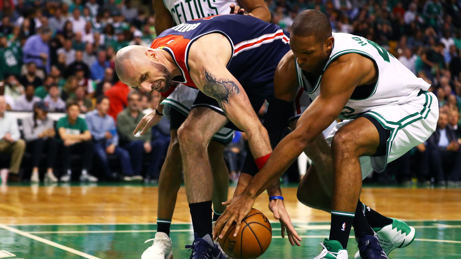 Wizards at Celtics Game 1 final score: Morris injured in ...
