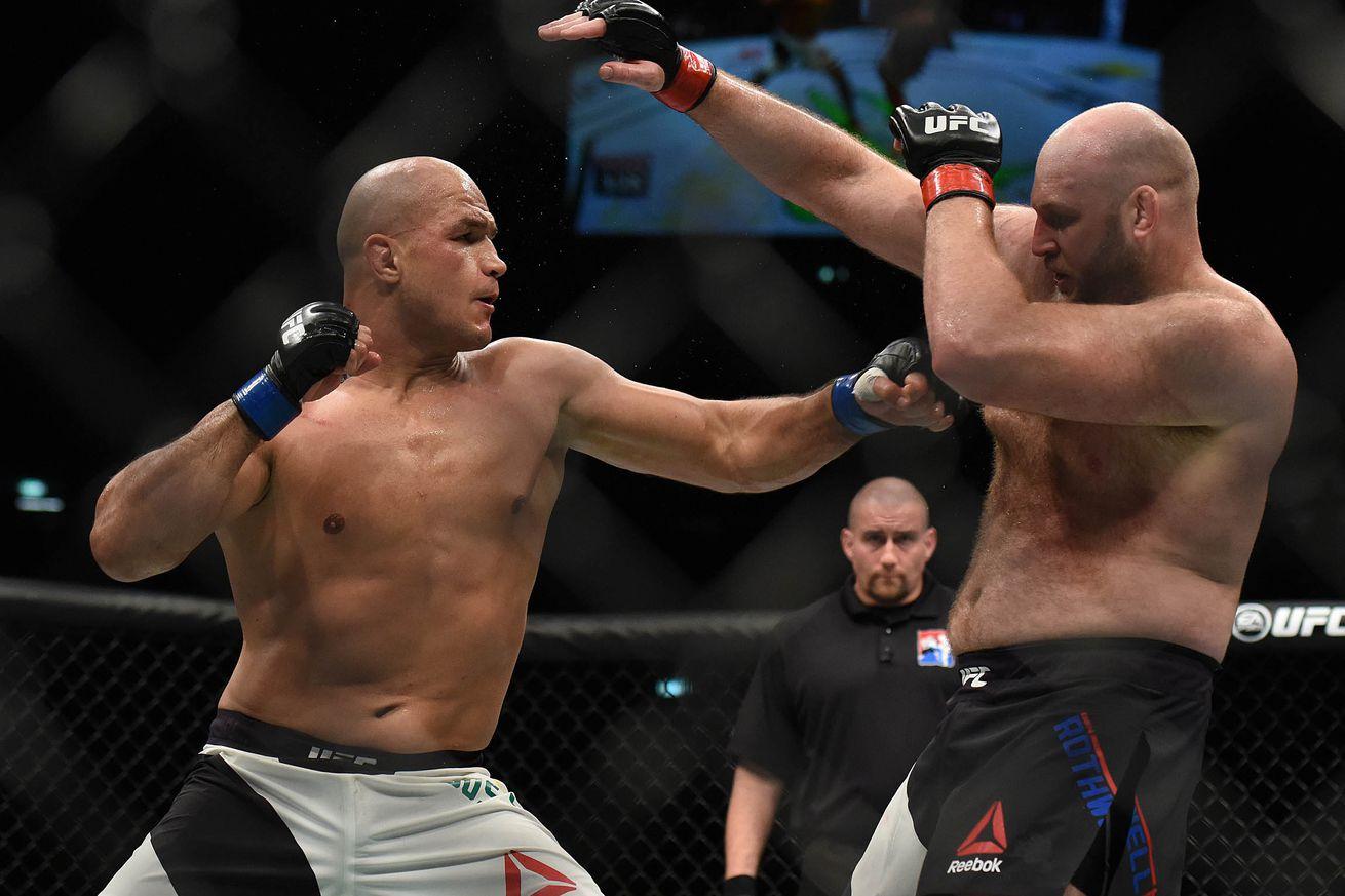 community news, Ben Rothwell: Accepting Junior dos Santos UFC fight was strategically stupid