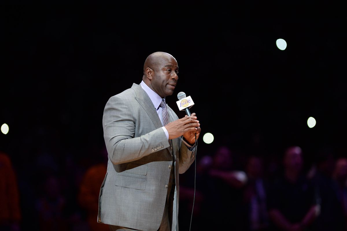 Magic Johnson Didn't See Player Worth Building Around On Lakers' Roster