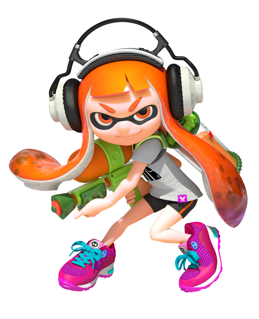 Splatoon Review Movable Type Polygon