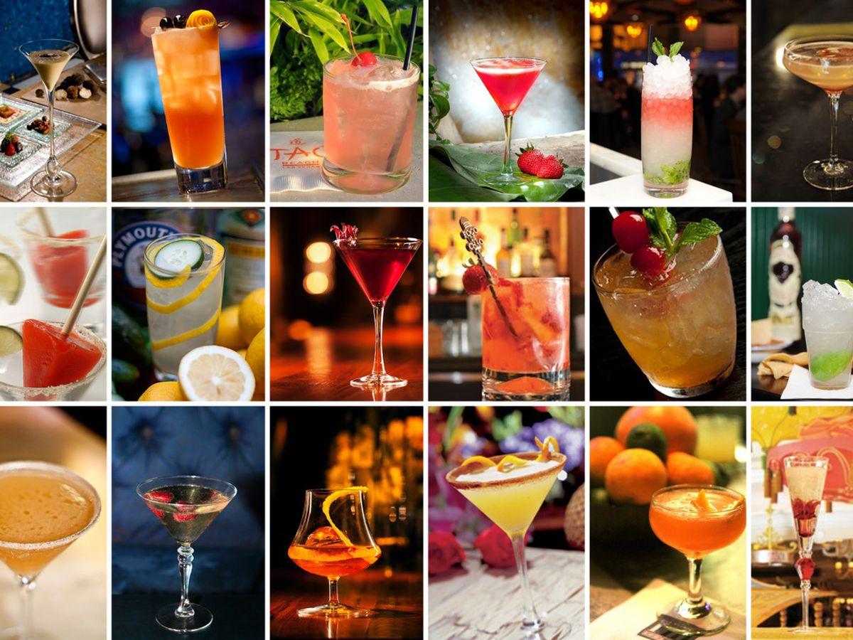 24 Iconic Cocktails in Las Vegas