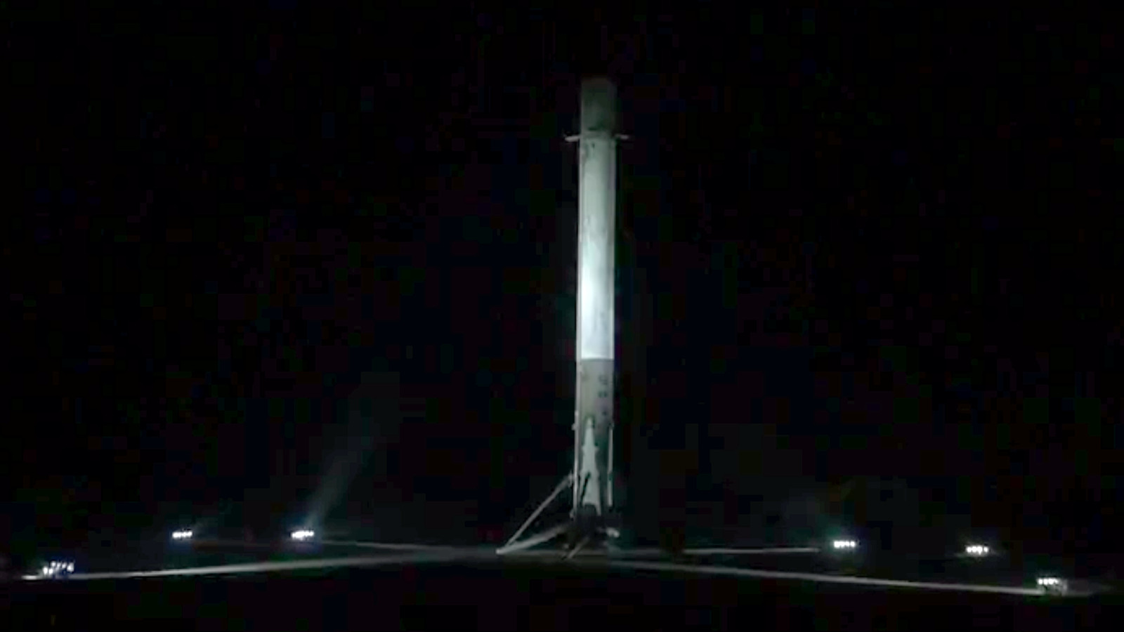 SpaceX successfully lands Falcon 9 rocket on solid ground for the second time | The Verge
