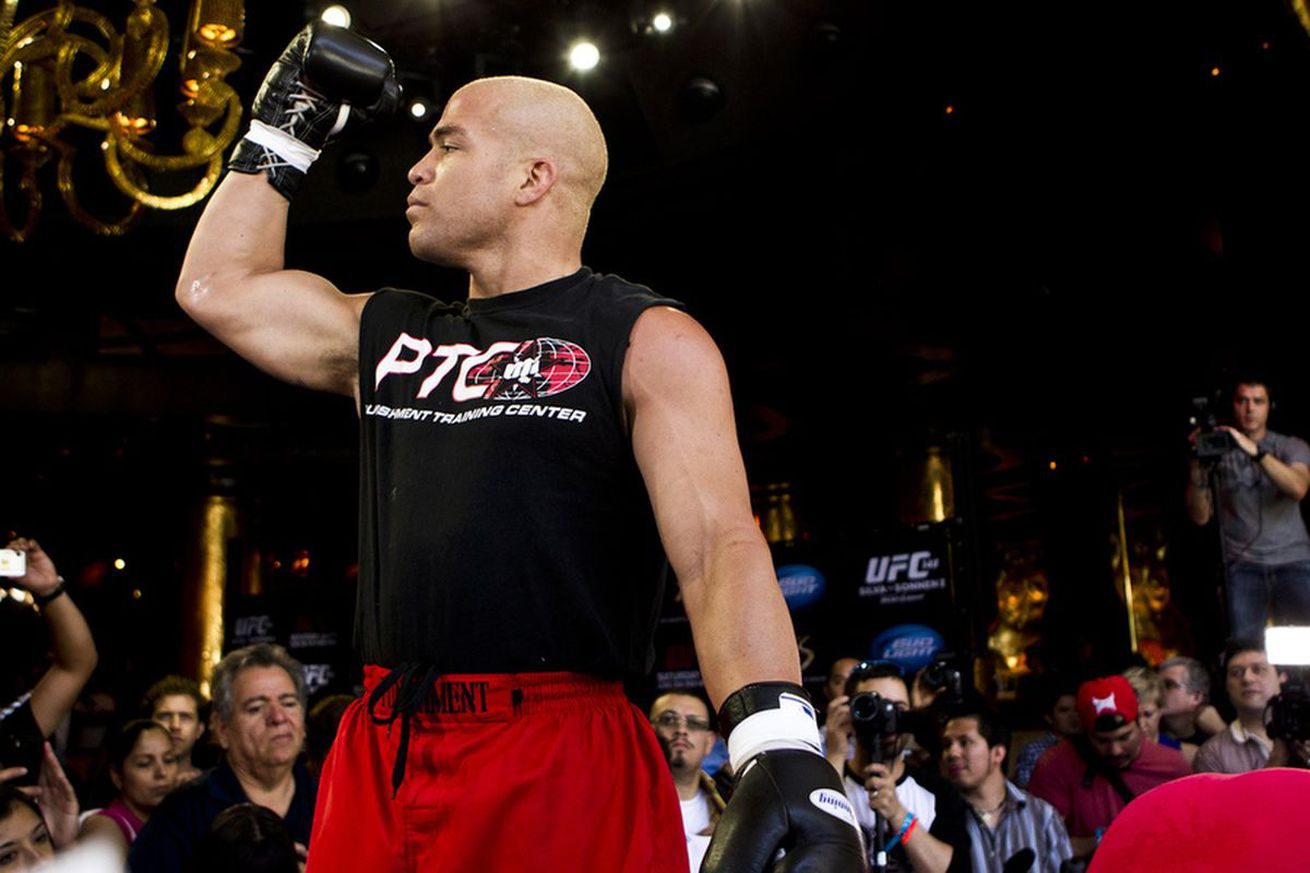 Tito Ortiz buries hatchet with UFC president Dana White   'Why waste time hating somebody?'