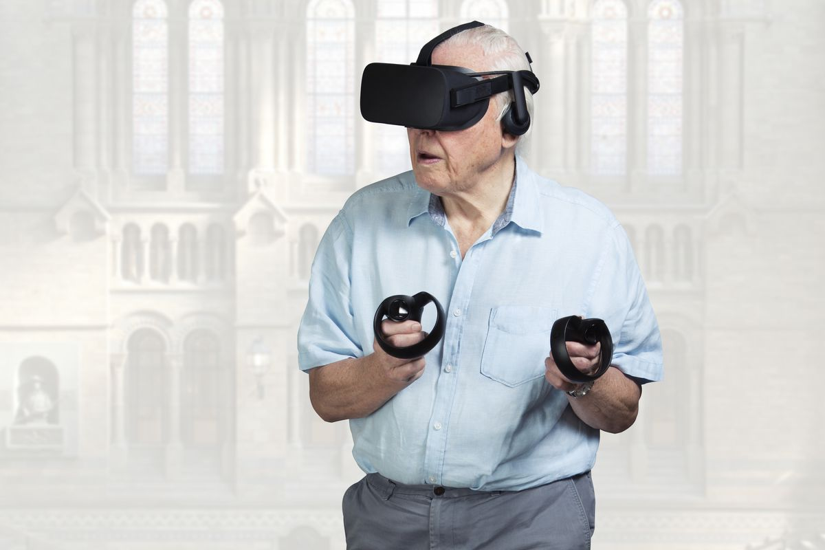 David Attenborough wants to show you some fossils (in VR)