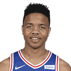 Although Ben Simmons brings the ball up and plays the point forward, Kyrie will be matched up with Fultz for the most part.  Fultz shot just 2-13 for 4 points with 3 assists in his first game.  He also appeared fatigued when he became the primary ball handler in the second half.  He will look to play better in this one.  <br>