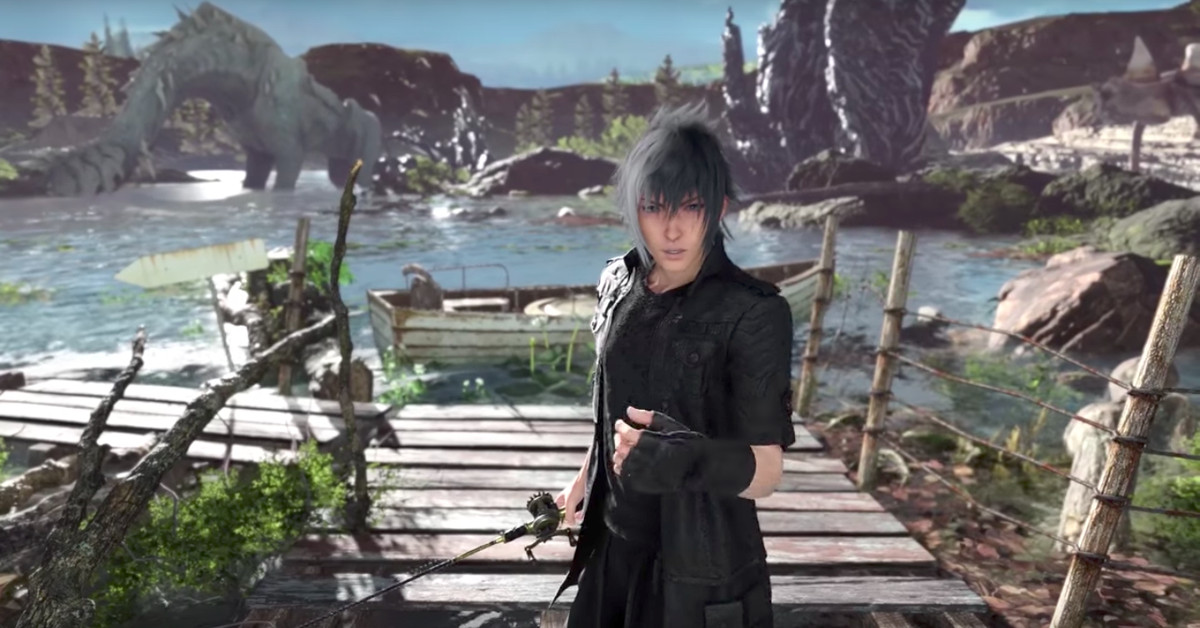 Monster of the Deep: Final Fantasy 15 is a fishy use of VR