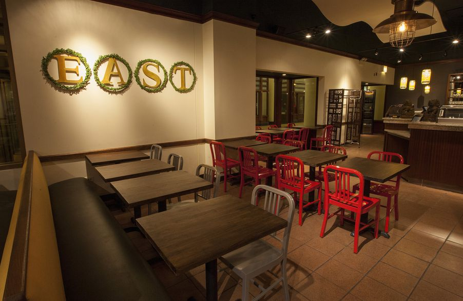 Hot woks cool sushi 39 s east gives depaul center a modern for Asian cuisine chicago