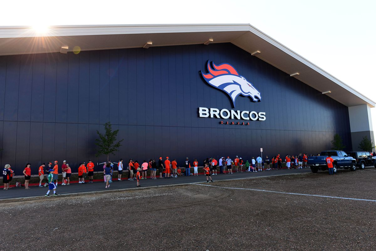 horse tracks broncos camp resumes today mile high report ron chenoy usa today sports