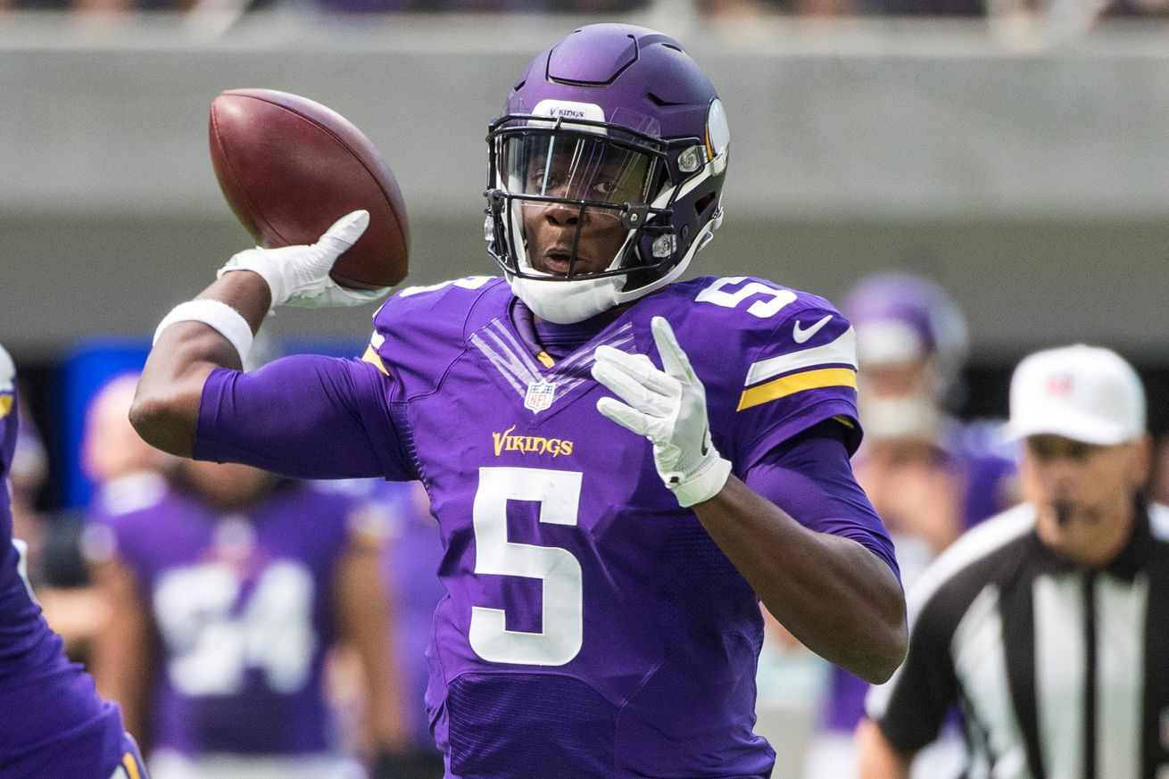 Vikings place Bridgewater on injured reserve, re-sign QB Sorensen