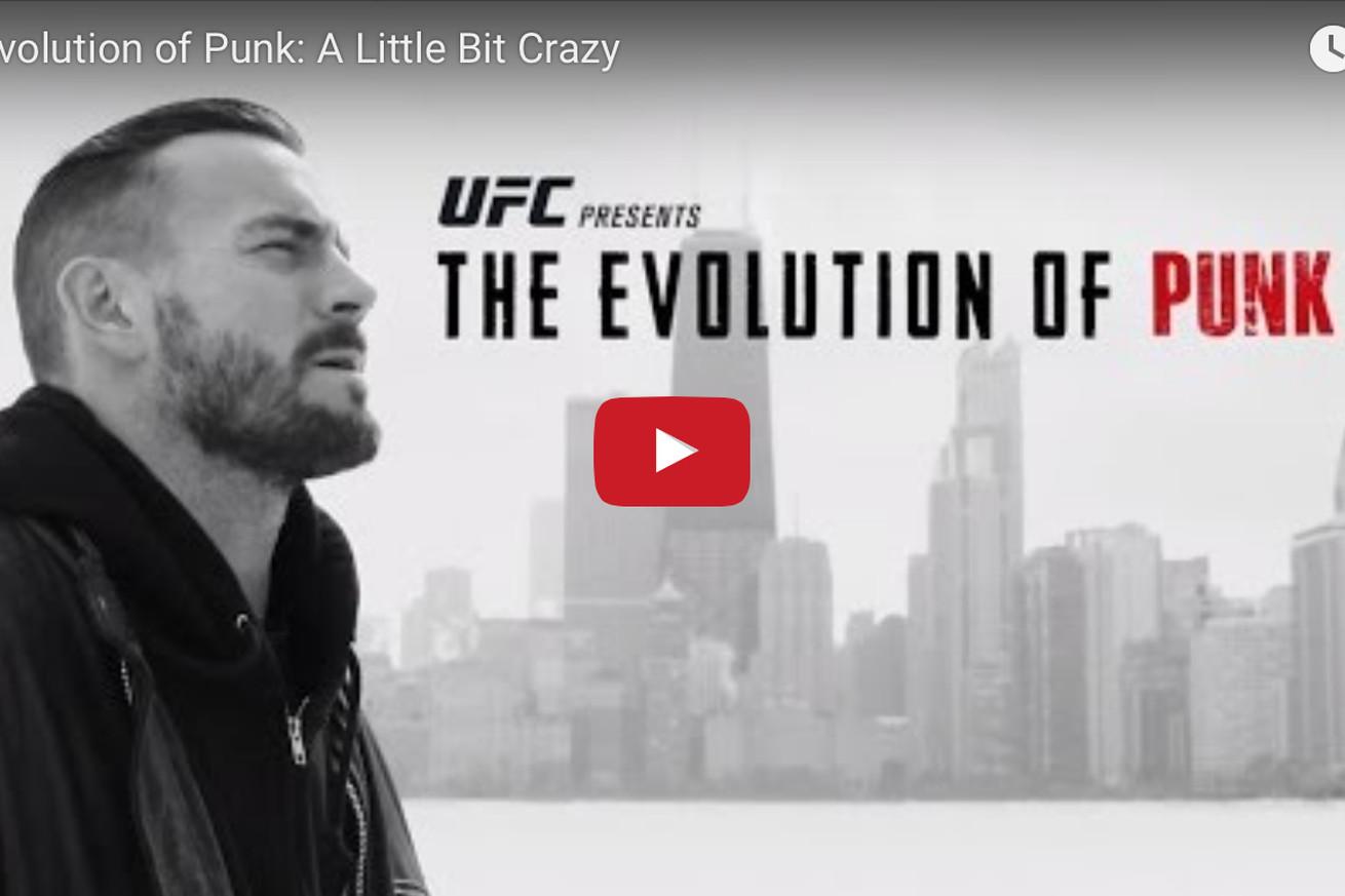 community news, Evolution of Punk video (Ep. 2): Watch UFC 203 attraction CM Punk get a little bit crazy