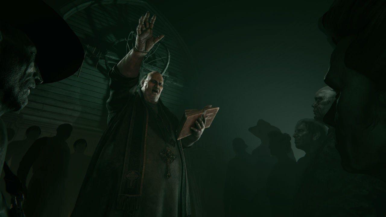 Creepy preacher commands his congregation