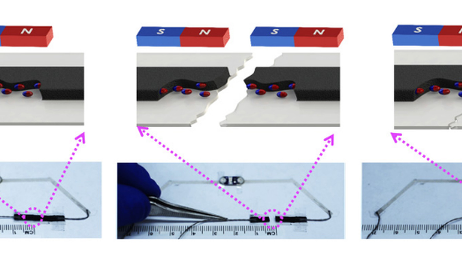 Scientists Develop Magnetic Ink That Lets Gadgets Self