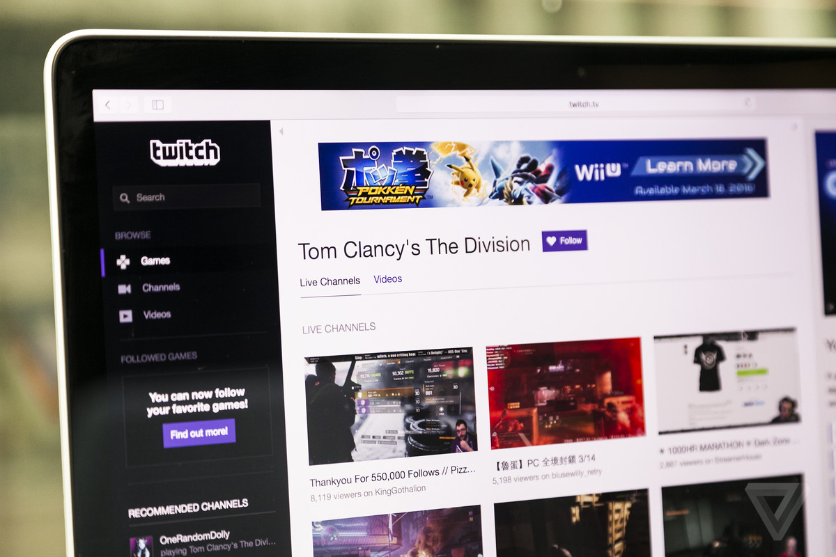 More Gamers Can Soon Make Money on Twitch
