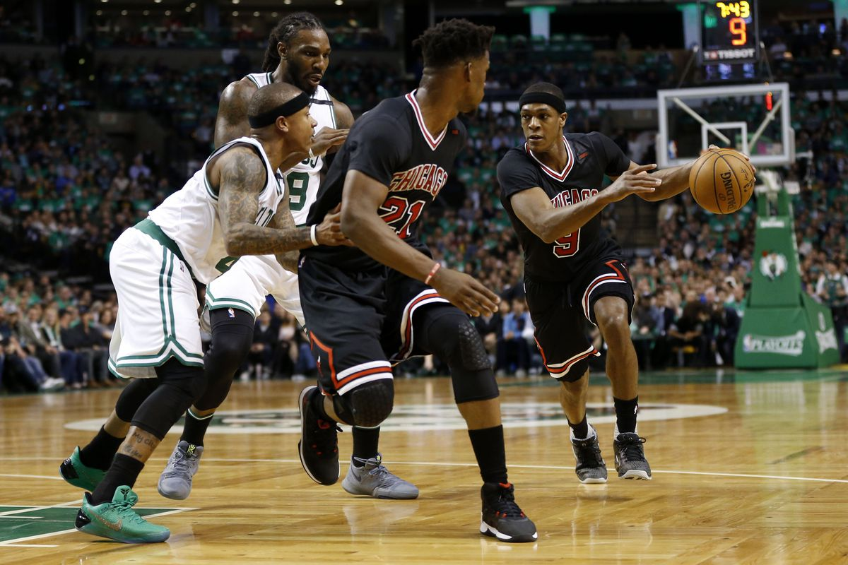 Celtics embarrassed by 8-seed Bulls, down 0-2 heading to Chicago