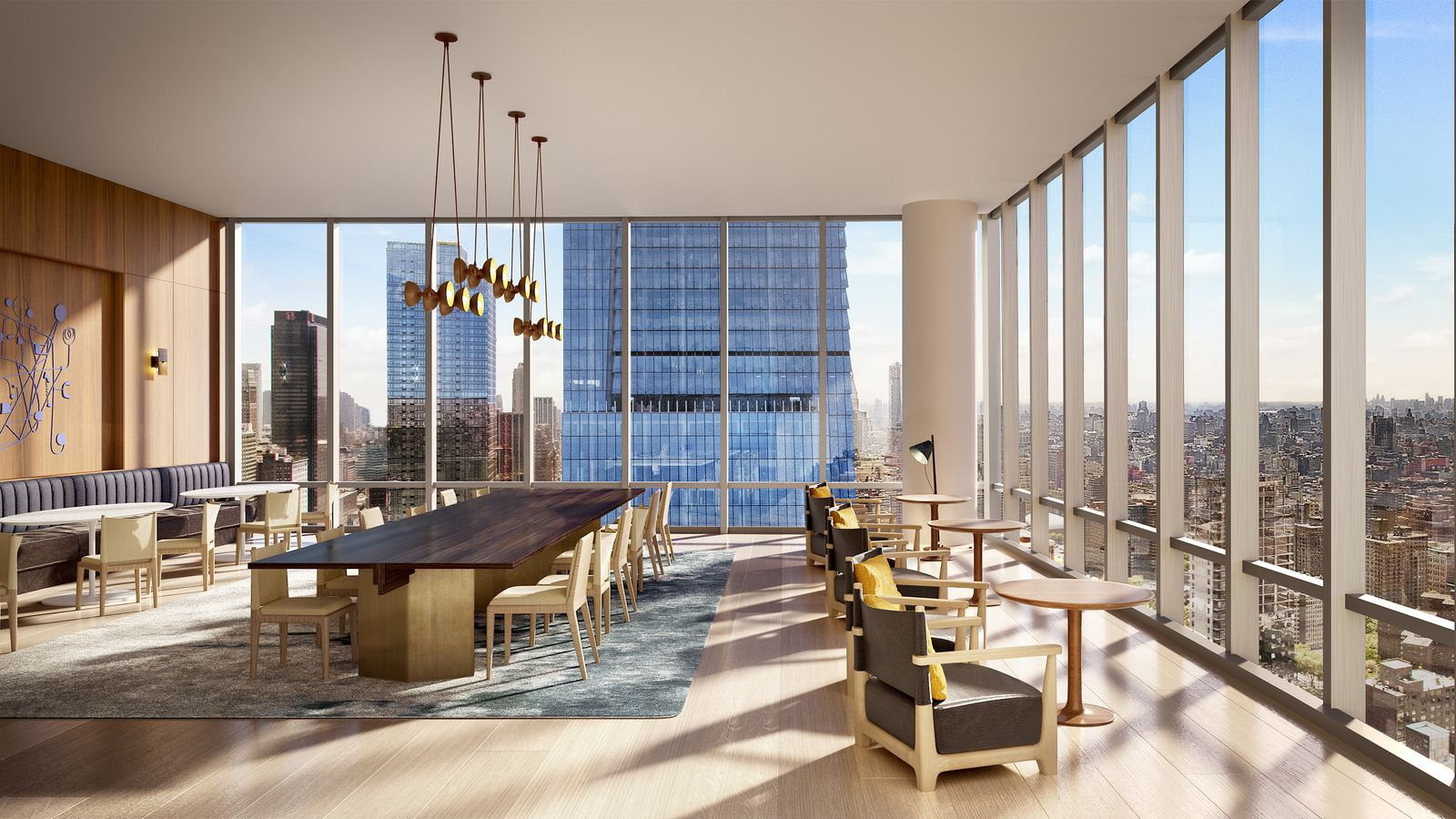 15 Hudson Yards Reveals The Atelier Its Co Working Space