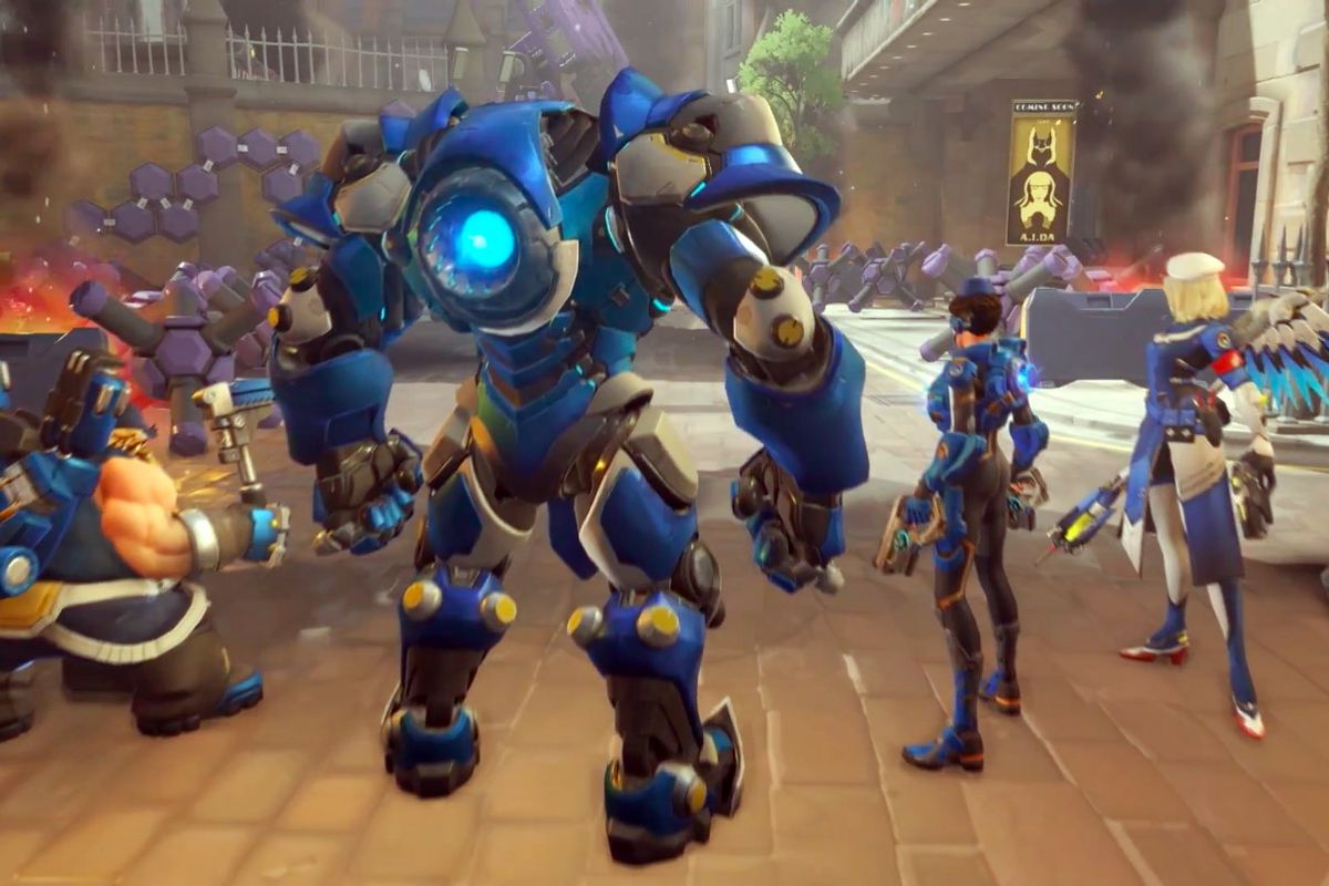 Image result for overwatch insurrection