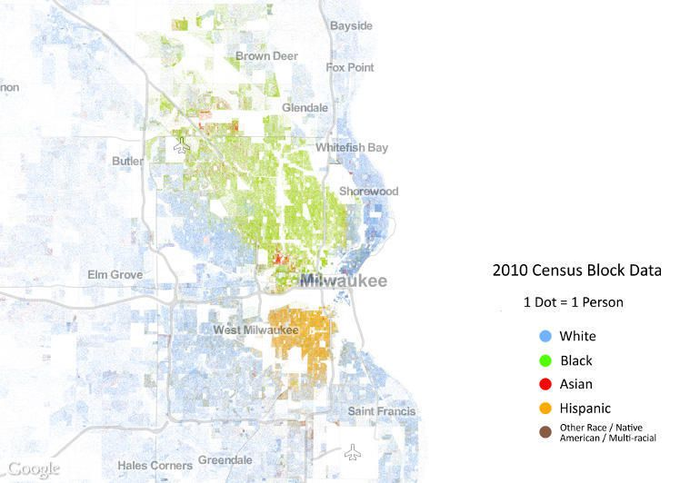 The Problems That Led To Milwaukees Riots Exist In Way More US - Milwaukee on us map