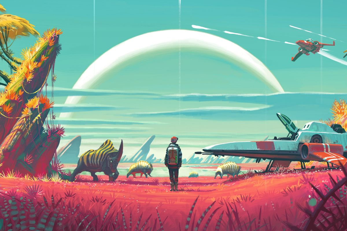 no man s sky is an existential crisis simulator disguised as a at recode s annual code conference in venture capitalist elon musk made the provocative argument that reality is not reality at all but a massive
