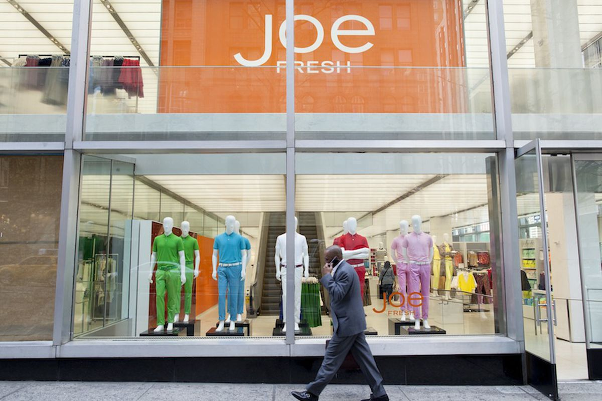 Joe fresh clothing store nyc