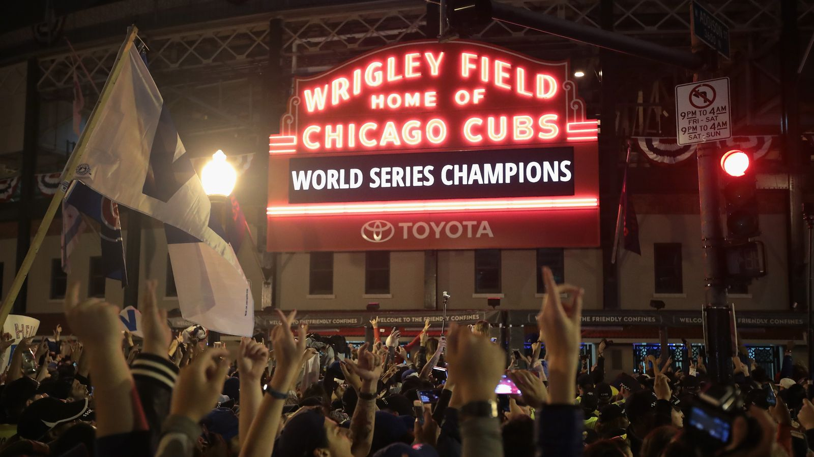 The Cubs Finally Won The World Series And It Took One Of