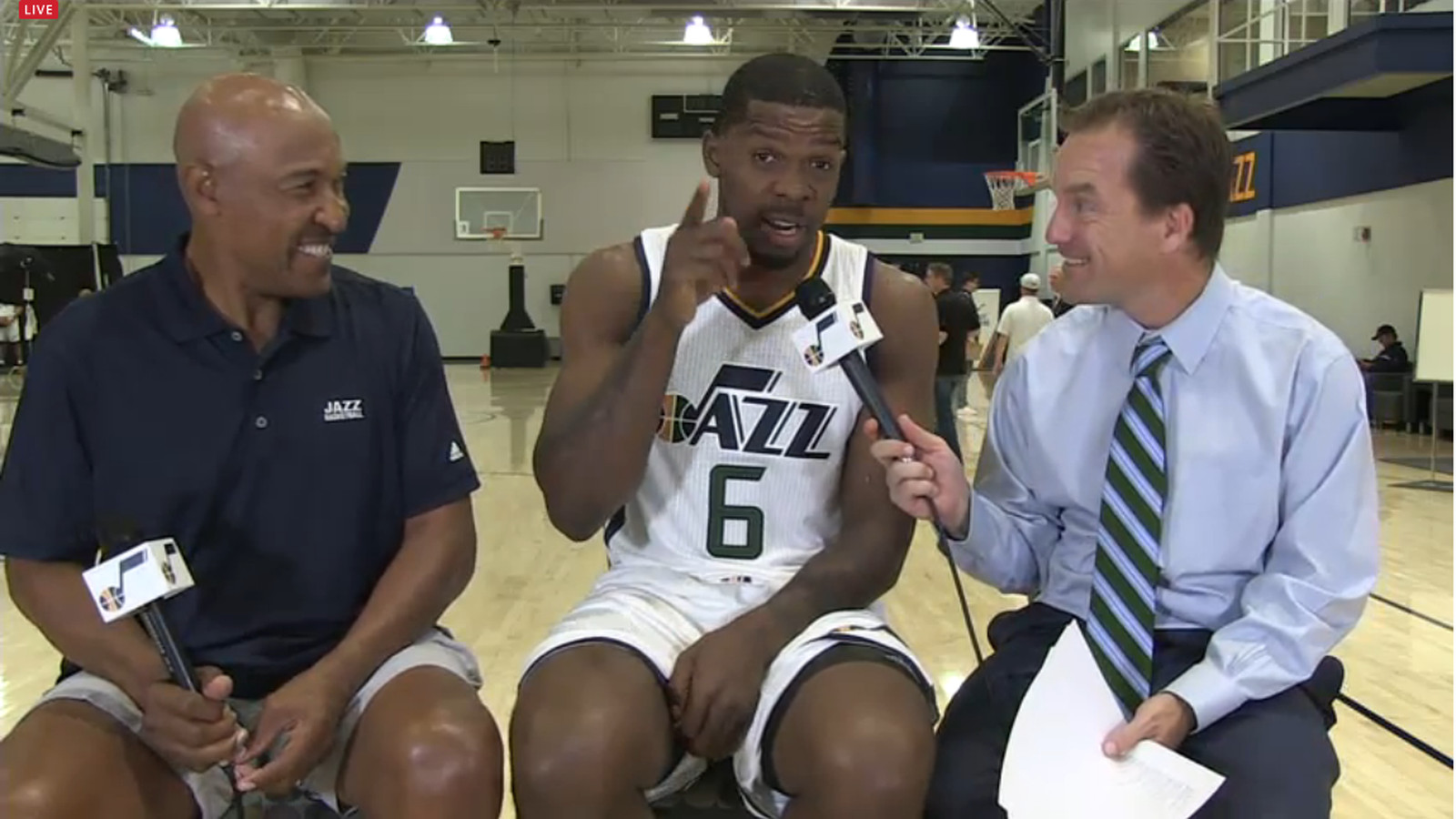 "Joe Johnson is bringing ""Depth, Leadership, Wisdom, and Wins"" to the Utah Jazz - SLC Dunk"
