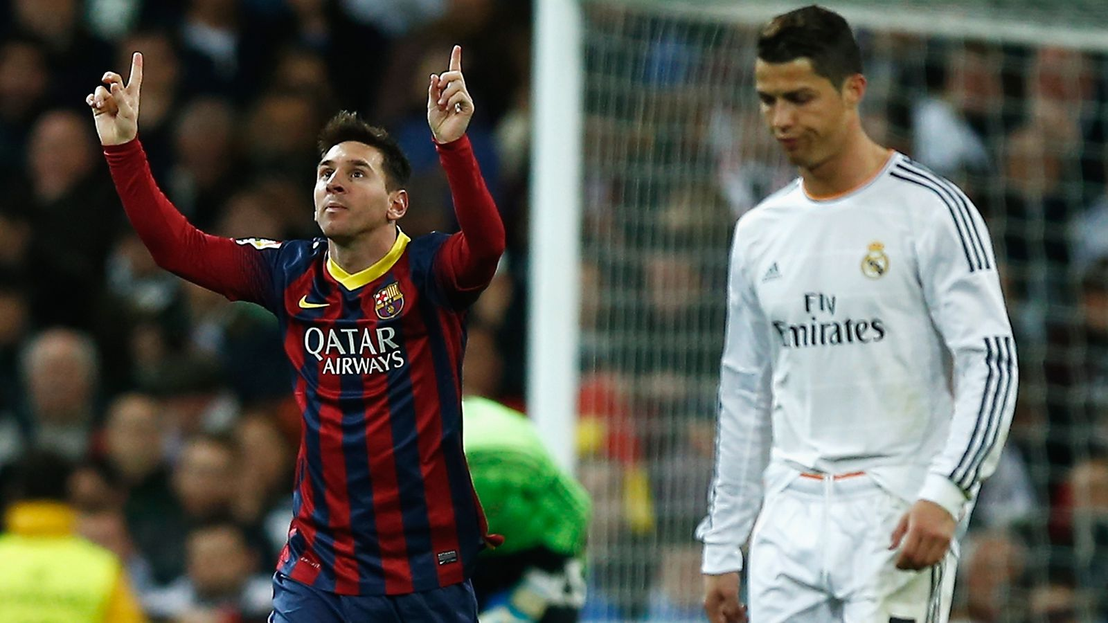 Image result for orlan: Ronaldo missing qualities that Messi has