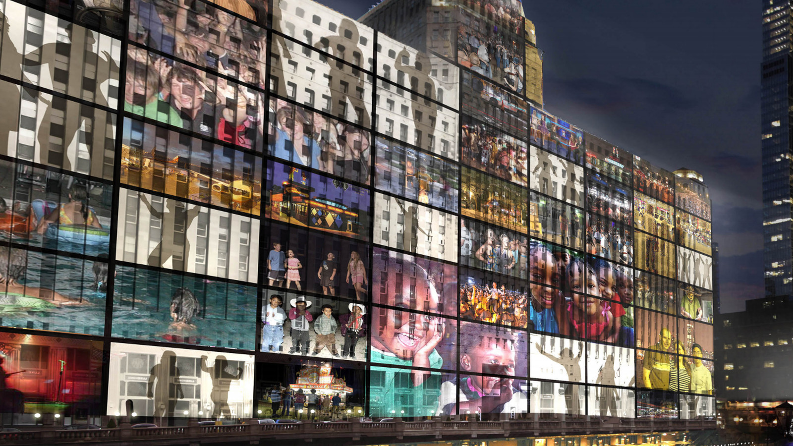 Plan To Light Up Chicago S Merchandise Mart Is Moving