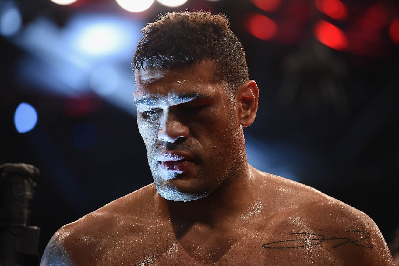 Antonio 'Bigfoot' Silva returns to action against undefeated Vitaly Minakov on June 2 from Russia