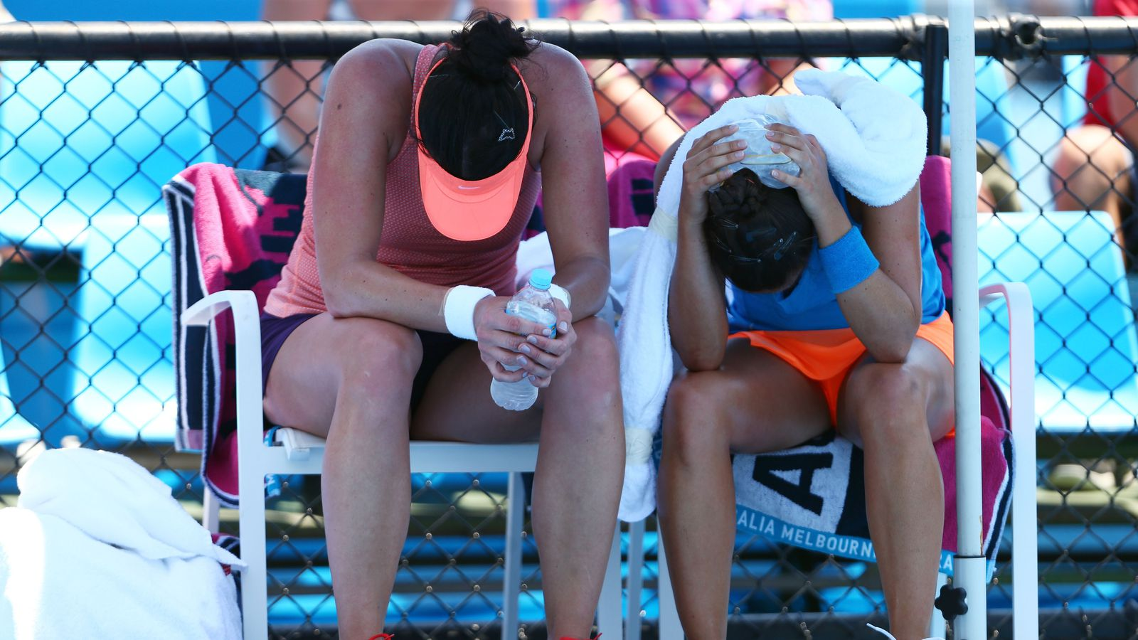 Australian Open extreme heat policy