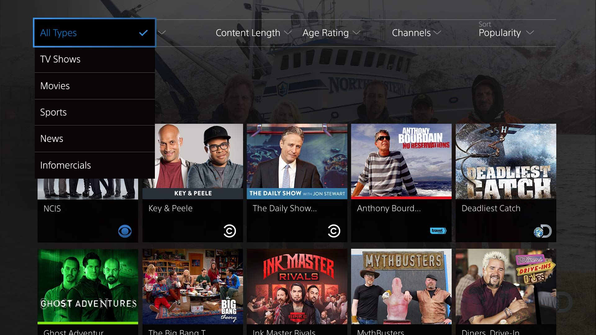 Playstation Vue Internet Based Cable Tv Like Service