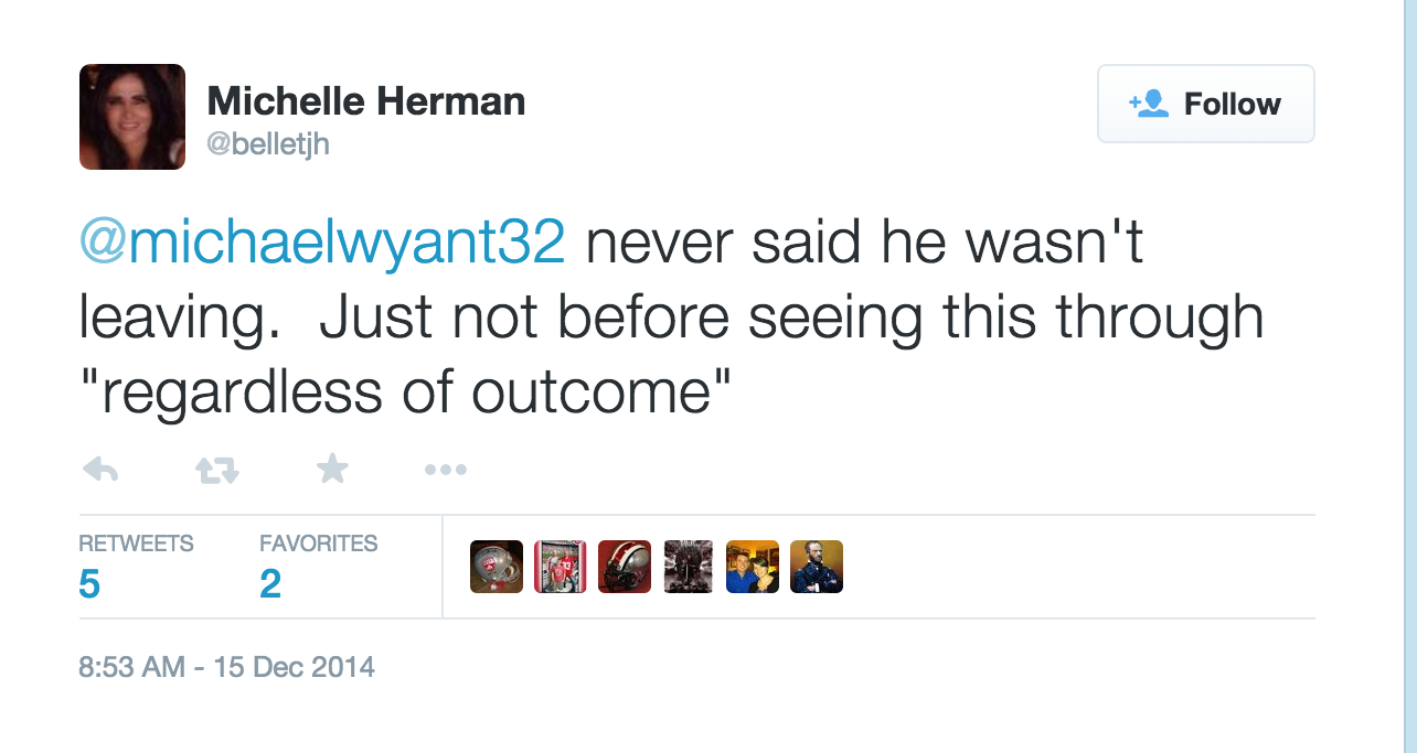 On Tom Herman coaching at Ohio State through the playoff ...