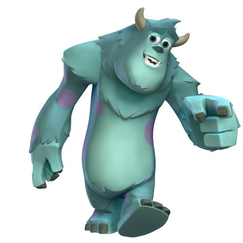 Disney Infinity Characters Sulley Disney Infinity Character Art
