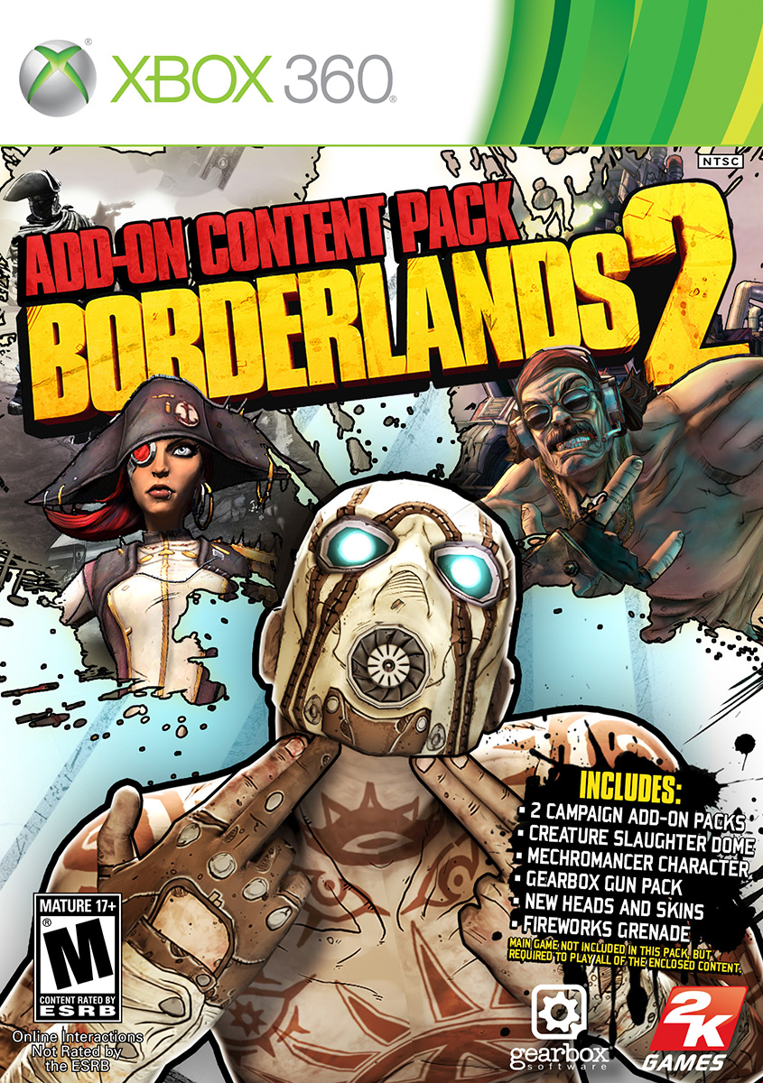 Borderlands 2: Add-on Content Pack collects first two DLC ... Borderlands 2 Max Backpack