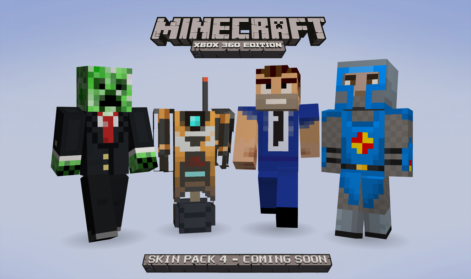 Fourth skin pack for Minecraft: Xbox 360 Edition coming ...