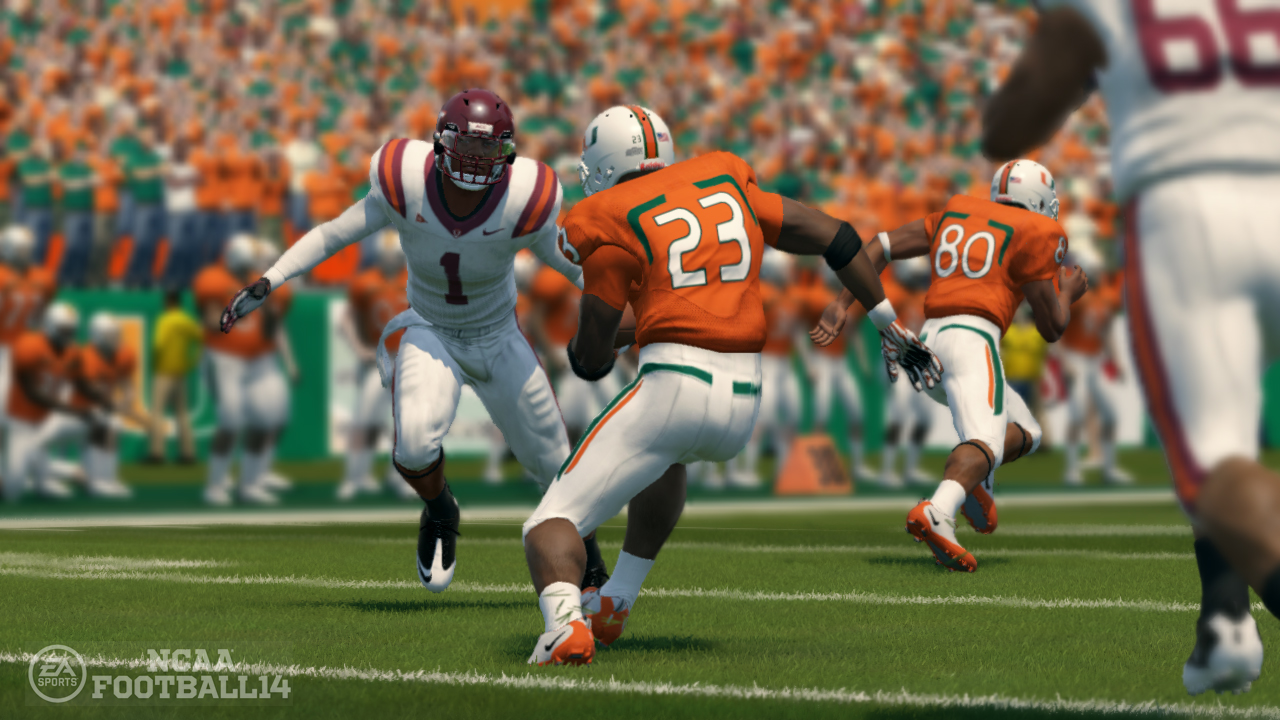 See The New Gameplay Camera Angles for NCAA Football 14 ...